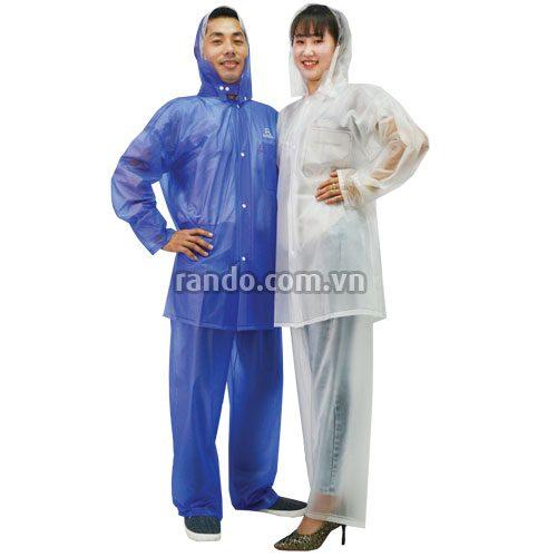 Áo mưa bộ trong màu - RANDO