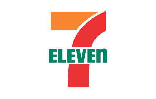 Logo 7 ELEVEN - áo mưa rando