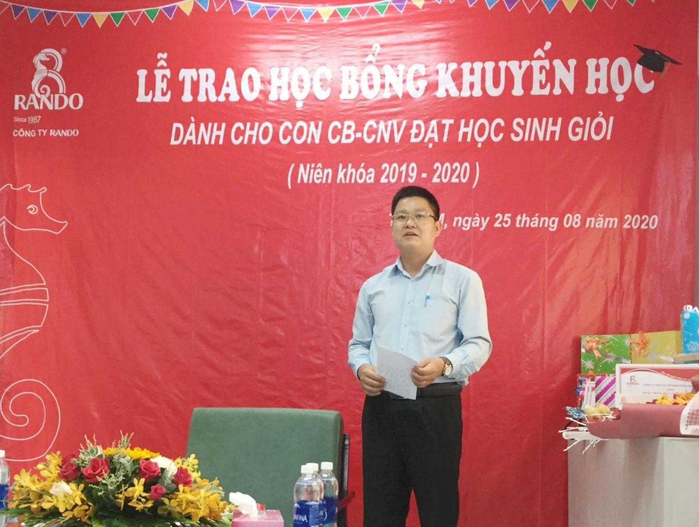 Ông Lê Kim Tú – GĐ Điều Hành RANDO