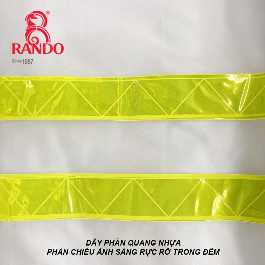 Dây phản quang bộ áo mưa trong màu phản quang RANDO