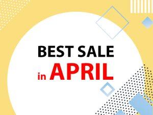 BEST SALE IN APRIL - Săn ưu đãi giá hấp dẫn cùng RANDO