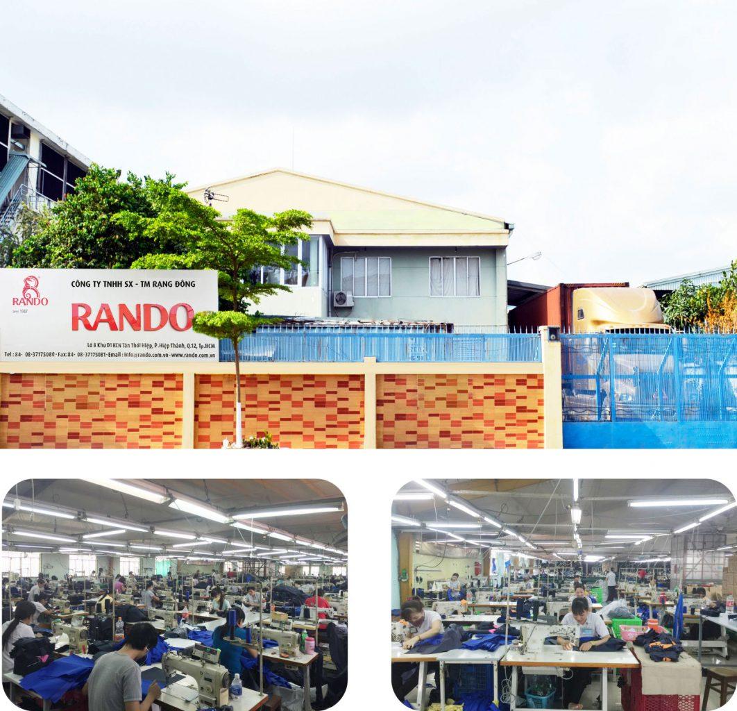 Nhà máy Công ty SX-TM RẠNG ĐÔNG (RANDO)